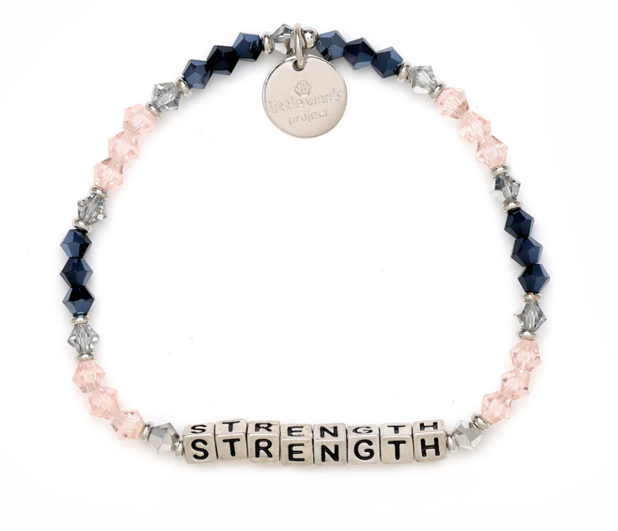 Little Words Project Strength Silver- Belle