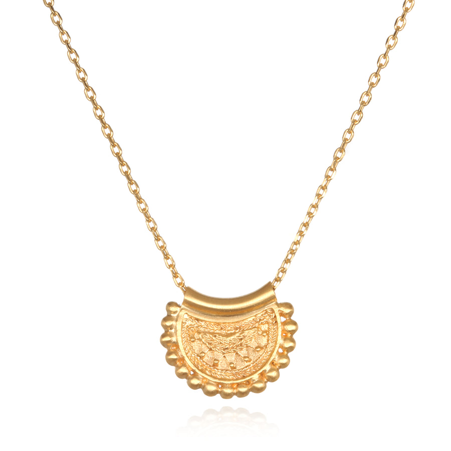 Satya Gold Mini Mandala Necklace