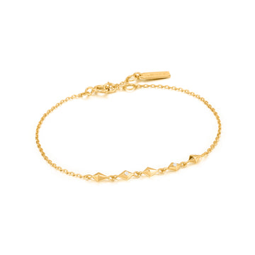 Ania Haie Gold Spike It Up Bracelet