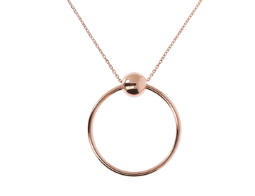 Bronzallure Ball and Ring Pendant