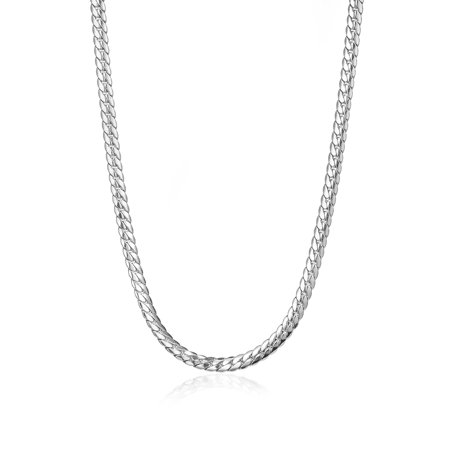 Jenny Bird Silver 'Biggie' Chain Necklace