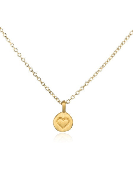 Satya Gold Love Heart Necklace