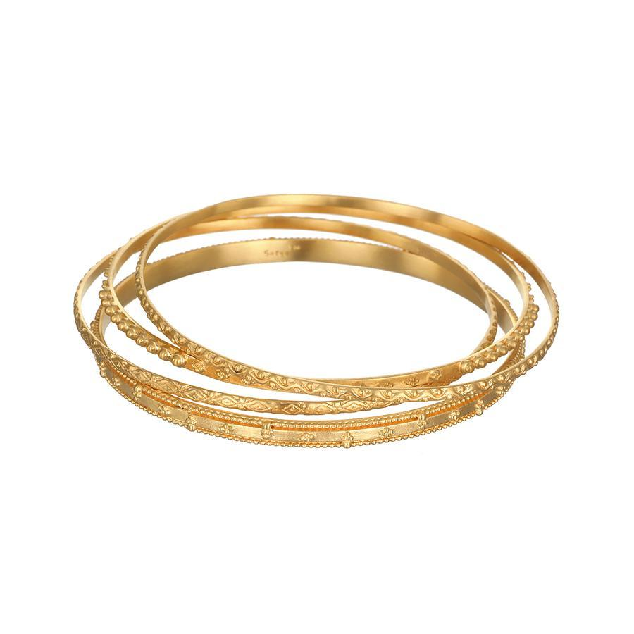 Satya Gold Bridal Bangle Set