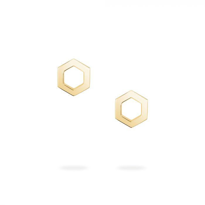 Birks Iconic 18K Yellow Gold Bee Chic Studs