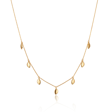 Jenny Bird Gold 'Foli' Necklace