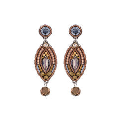 Ayala Bar Cinnamon Creek Diana Leverback Earrings