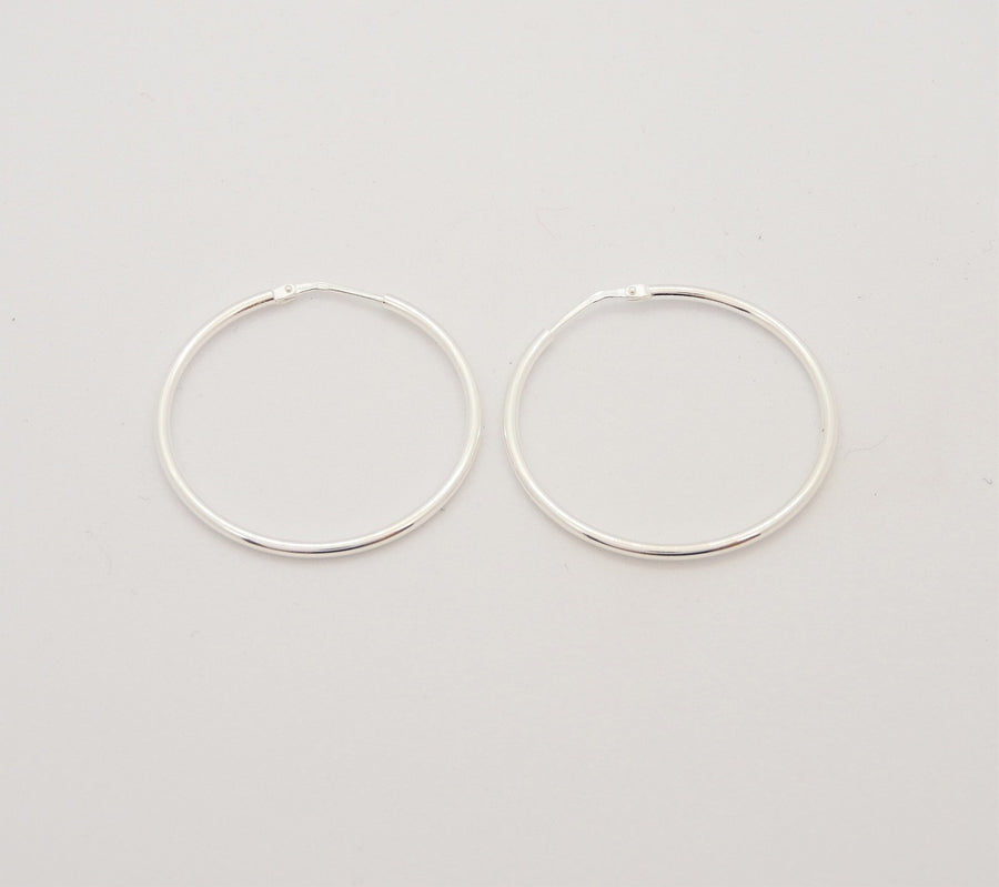 Marseille Sterling Classic Narrow 35mm Hoops