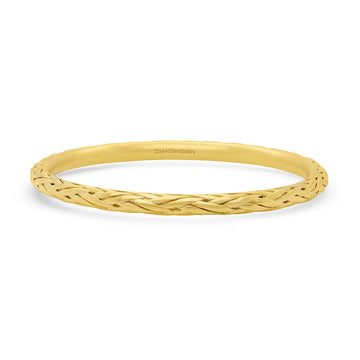 Dean Davidson Gold Weave Bangle