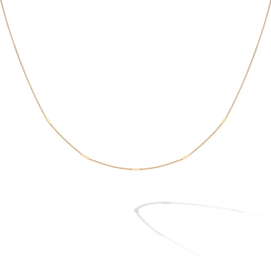 Birks Iconic 18K Yellow Gold Rosee Du Matin Stations Necklace