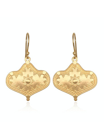 Satya Gold Devine Details Drop Earrings