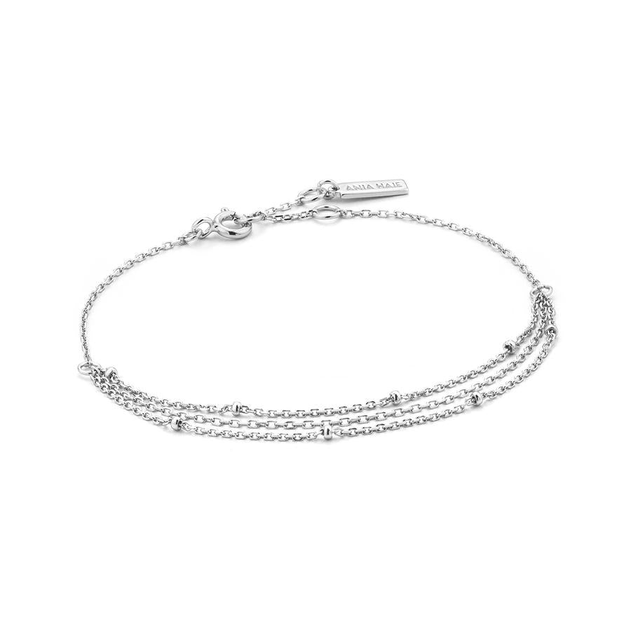 ANIA HAIE DRAPING SWING BRACELET IN SS