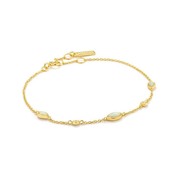 Ania Haie Gold Opal Colour Bracelet