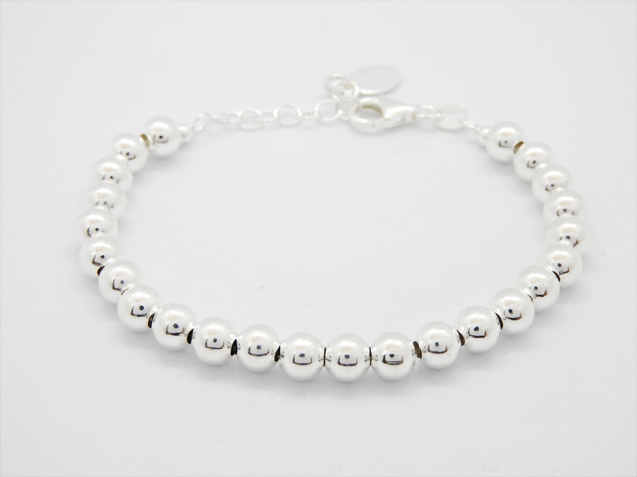 Marseille Sterling Silver Medium Ball Bracelet