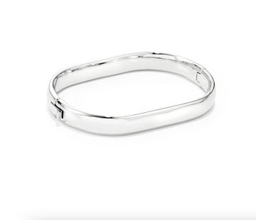 Jenny Bird Silver 'Stevie' Bangle Bracelet