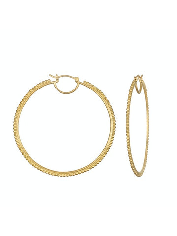 Satya Gold Infinite Energy Hoops
