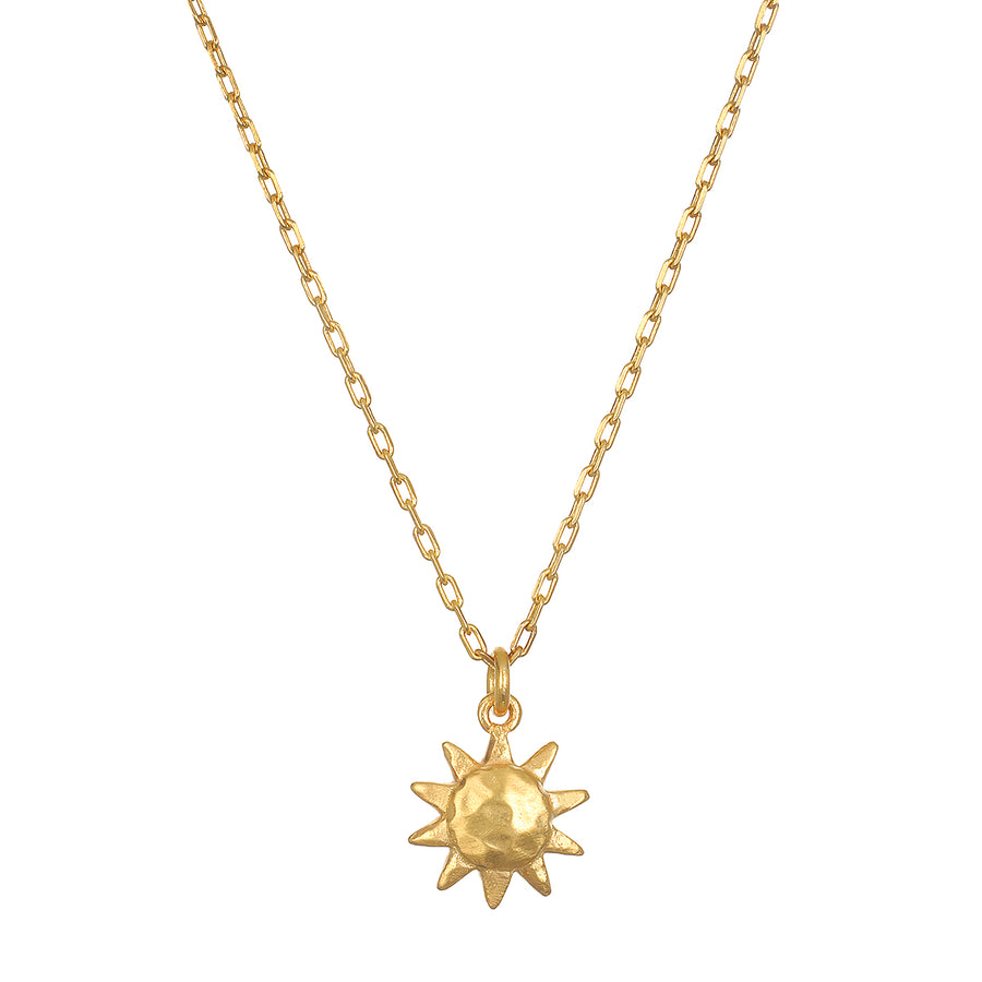 Satya Gold Here Comes The Sun Necklace