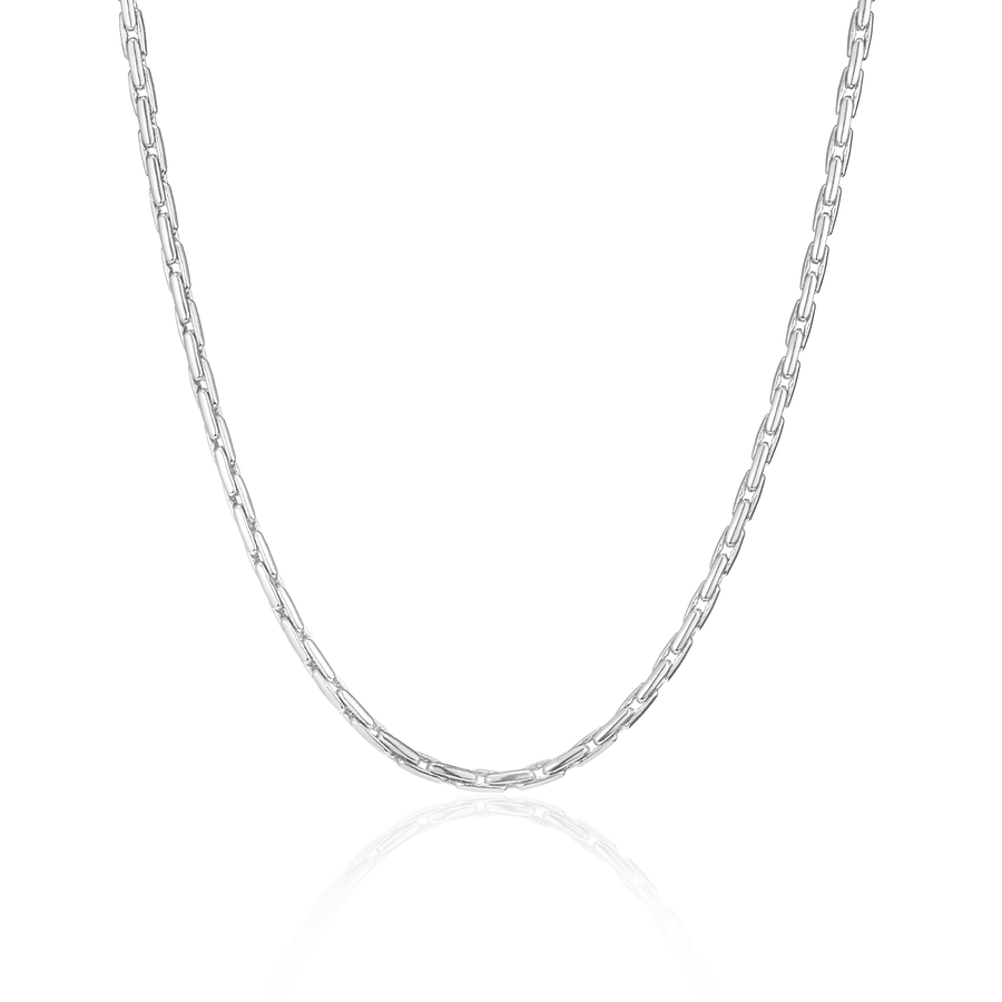 Jenny Bird Silver 'Constance' Chain Necklace