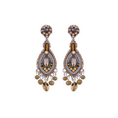 Ayala Bar Cinnamon Creek Ori Leverback Earrings