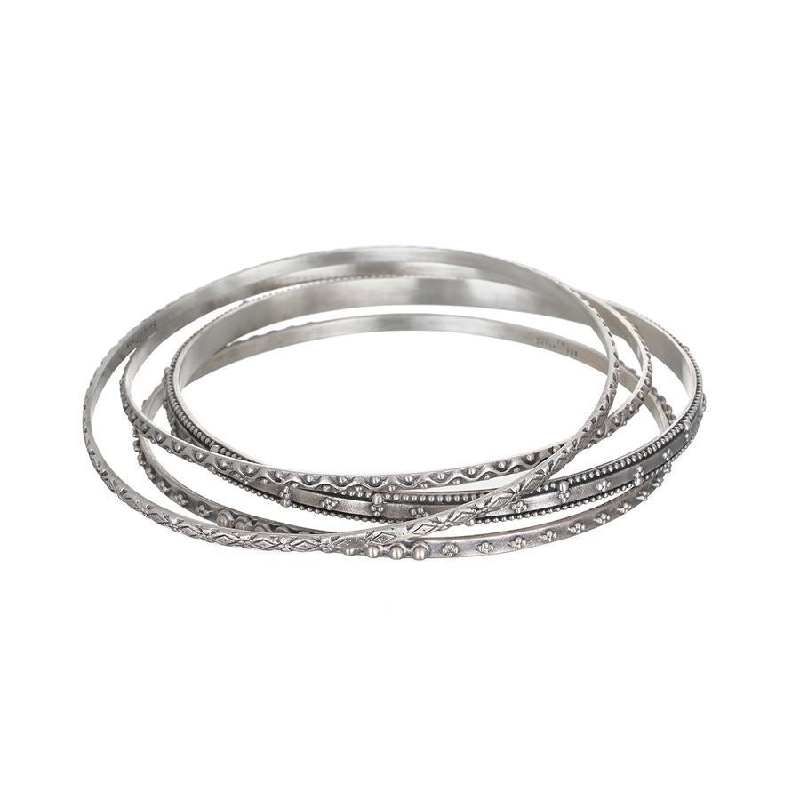 Satya Bridal Silver Set Bangle