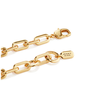 Jenny Bird Gold Small 'Toni' Link Bracelet