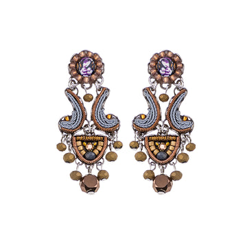 Ayala Bar Cinnamon Creek Nicole Leverback Earrings