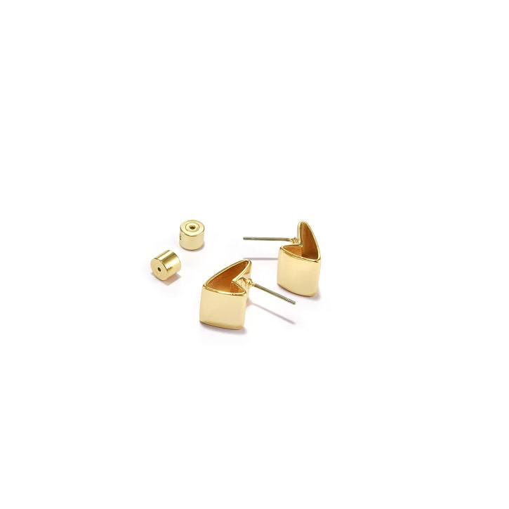 Jenny Bird Gold 'All Love' Stud Earrings