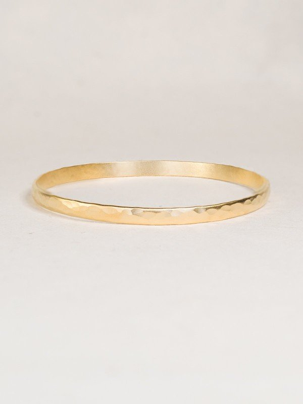 Holly Yashi Everyday Bangle Matte Gold