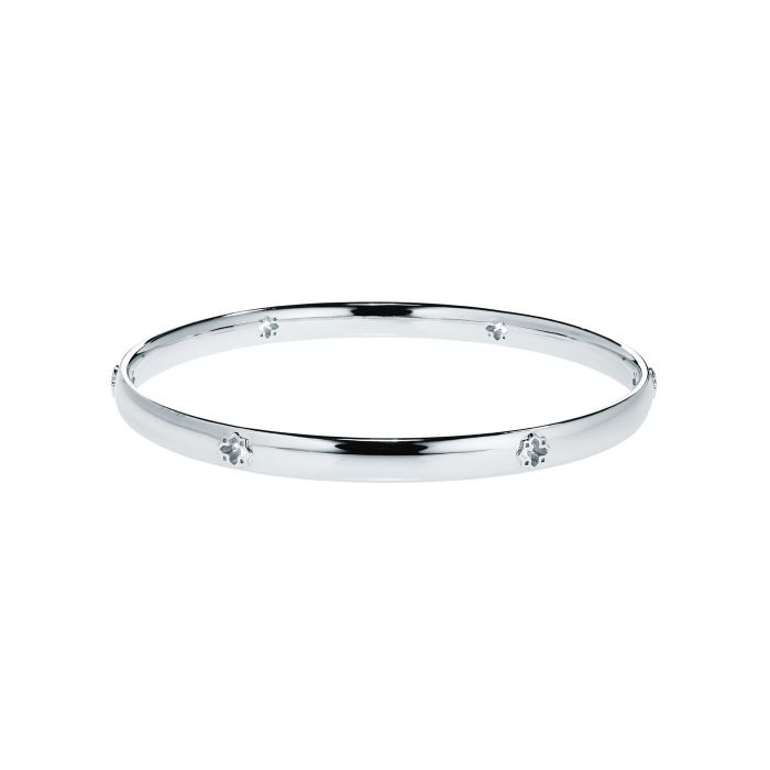 Birks Muse Sterling Solid Thin Bangle