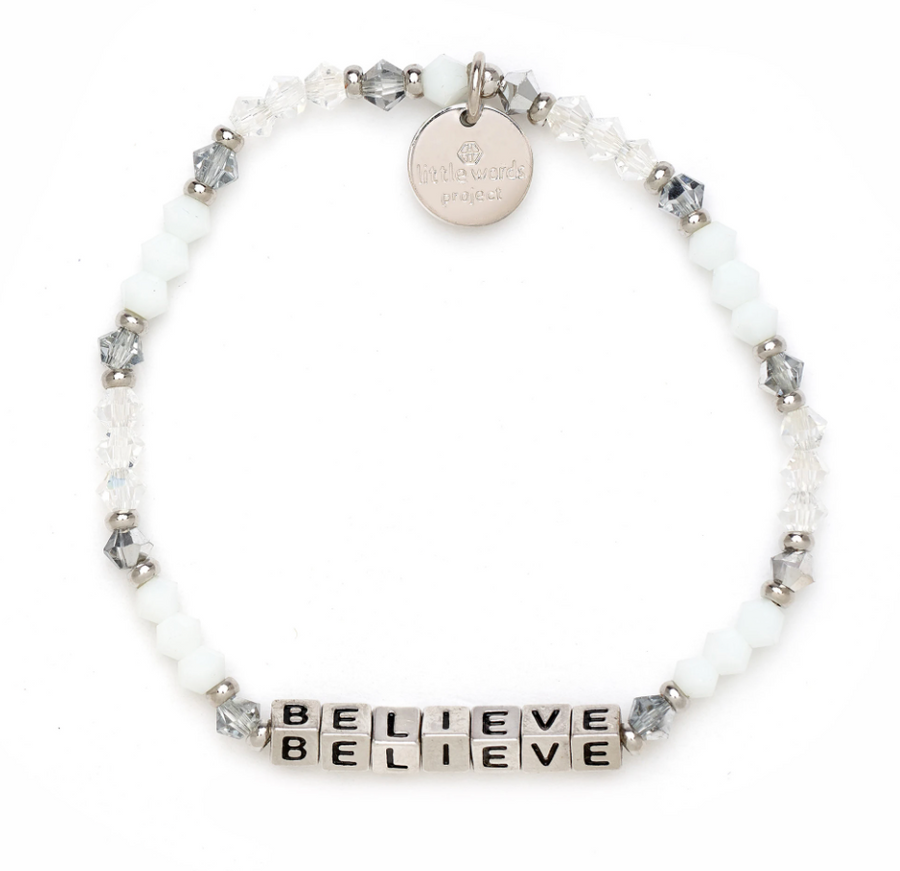 Little Words Project Believe Silver - Empire