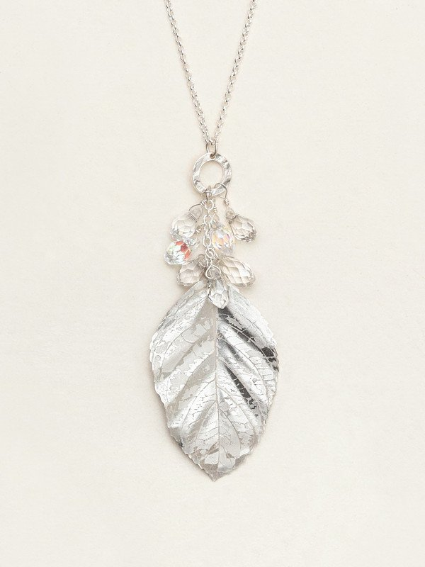 Holly Yashi Silver Cascading Elm Necklace
