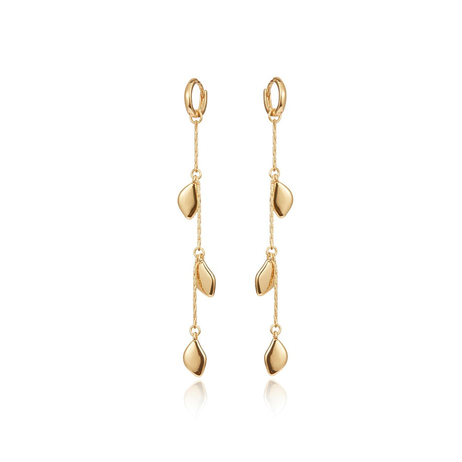 Jenny Bird Gold 'Foli' Drop Earrings