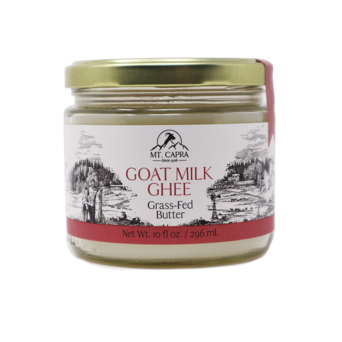 Grass Fed Goat Milk Ghee - 10 fl oz / 296 mL