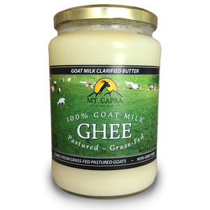 Grass Fed Goat Milk Ghee - 24 fl oz / 710 mL