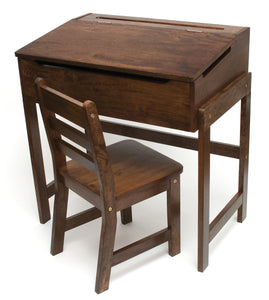 Kids Slanted Top Desk & Chair