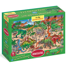 Load image into Gallery viewer, Dinosaurs Puzzle