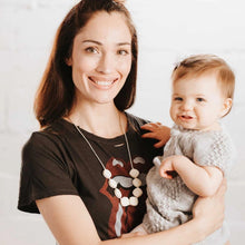 Load image into Gallery viewer, Teething Necklace for Mom, Antoinette in Vanilla