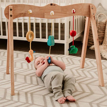 Load image into Gallery viewer, Wooden Baby Gym