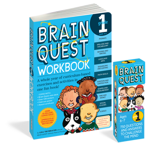 Brain Quest Set: Grade 1