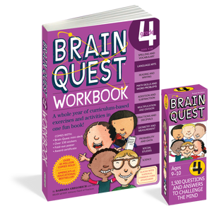 Brain Quest Set: Grade 4