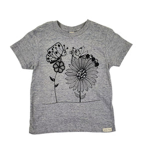 Caterpillar and Butterfly Tee