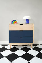 Load image into Gallery viewer, Kabano Modern Kids 3-Drawer Dresser