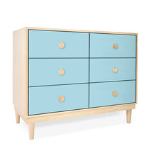 Load image into Gallery viewer, Lukka Modern Kids 6-Drawer Dresser