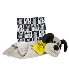 Load image into Gallery viewer, Dog Crinkle Cuddler with Matching Baby Paper Gift Set
