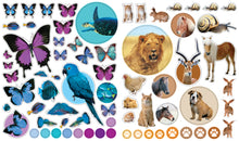 Load image into Gallery viewer, Eyelike Stickers Set: Animals