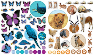 Eyelike Stickers Set: Animals