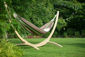 Flora Chocolate - Organic Cotton Kingsize Classic Hammock