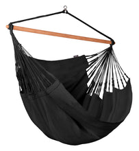 Load image into Gallery viewer, Habana Onyx - Organic Cotton Kingsize Hammock Chair