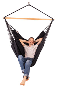 Habana Onyx - Organic Cotton Kingsize Hammock Chair