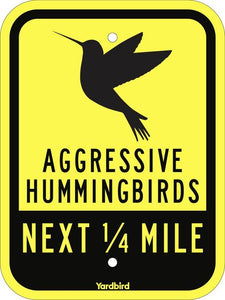 Hummingbirds Sign