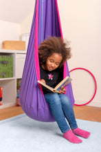 Load image into Gallery viewer, Joki Lilly - Organic Cotton Kids Hanging Nest with Suspension